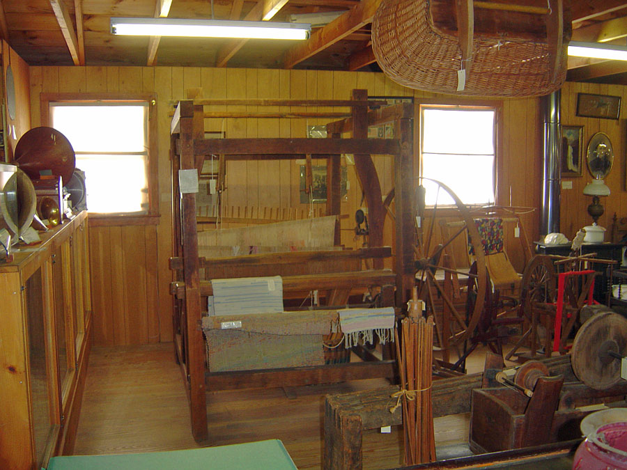 Weaving Exhibit