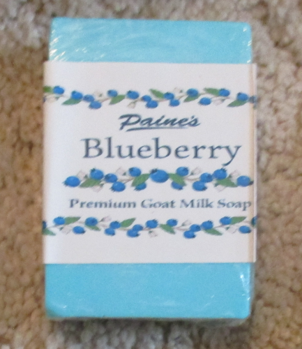 Blueberry Goat Milk Soap