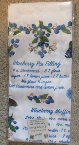 Blueberry Kitchen Towel