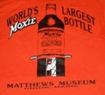 World's Largest Moxie Bottle Tee - Back